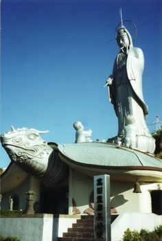 Fukusai-ji con la diosa Kannon - Nagasaki