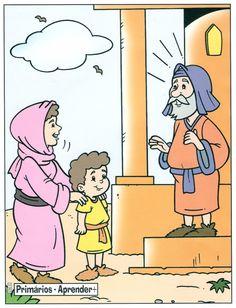 1 Samuel 1:21-28 - Ana entrega Samuel a Eli.