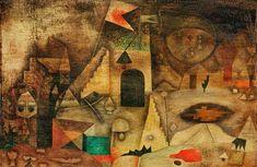 Paul Klee - Romantischer Park, 1930.
