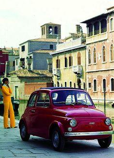 A Glamorous Fiat 500.