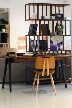 Dream Pinterest Of The Day: This stunning Orson Desk by Matthew Hilton...looks good with the ercol Butterfly chair