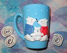 #полимернаяглина #ручнаяработа #саратов #россия #чашка #кружка  #вкусныеложки #идеядляподарка #подарки #handmade #хендмейд #чай #кофе #мишка #мишки