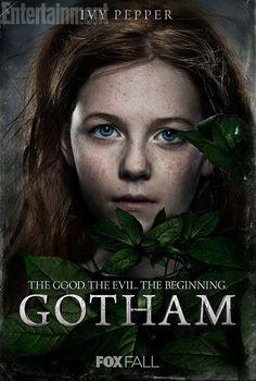 Gotham 1a temporada poster Ivy Pepper