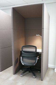 It seems the privacy pod is the new cube.