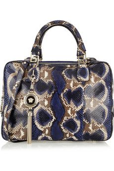 VERSACE | this would make an awesome make-up bag!