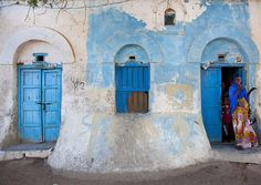 Berbera old house - Somaliland by Eric Lafforgue