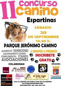 Concurso canino en Espartinas