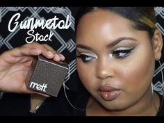 Melt Cosmetics GUNMETAL Stack Review + Tutorial | KELSEEBRIANAJAI - Melt Cosmetics https://www.amazon.com/gp/search?ie=UTF8&tag=pixibeauty-20&linkCode=ur2&linkId=ec1a0b202568f2fcd14a941e7c9da42e&camp=1789&creative=9325&index=beauty&keywords=melt cosmetics  Hi dolls! In this video, I will be reviewing and using the new Melt Cosmetics Gunmetal Stack! These eyeshadows just released, so of course I wanted to share them with you guys in a video.
