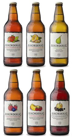 Rekorderlig Ciders...most amazing ciders ever! Gonna miss them when we leave...