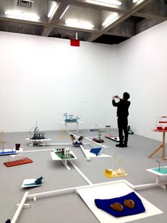Visited CCA Feb14, 2014.  Opening reception of Emre Hüner. This photo is the gallery scene of installation done by Emre Hüner. Yamaguchi, Fukuoka, Reception, Scene, Gallery, Furniture, Home Decor, Decoration Home, Roof Rack