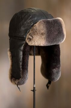 Our leather trapper is the headwear of choice when temperatures fall. Free shipping   returns.