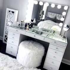 CLICK FOR NEW Makeup And Home Décor And Beauty Room Tips, Tutorials And The Resources To #GLAM Your Home, #BeautyRoom & Grow Your #Makeup Collection. Exceed Your Goals And Transform Your Space Into One That Ignites Your Creativity To DREAM BIG! Access #GLAM #HomeDecor And Quality #MakeupOrganizers For Your Entire #MakeupCollection. This Is Great For Those Who Love ALL THINGS BEAUTY And The #MUA To Organize Their #Makeup And #MakeupVanity.
