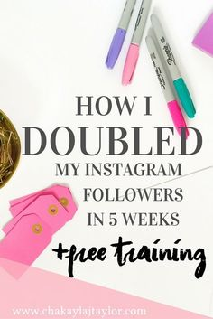 How I Doubled My Instagram Followers in 5 Weeks — Instagram will be a major marketing tool in 2016! And, in today's post, I will be sharing actionable tips on how you can not only increase your Instagram traffic, but how you can turn that traffic into profitable leads.
