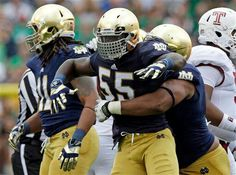 """We R ND. Like the Irish?  Be sure to check out and """"LIKE"""" my Facebook Page https://www.facebook.com/HereComestheIrish  Please be sure to upload and share any personal pictures of your Notre Dame experience with your fellow Irish fans!"""