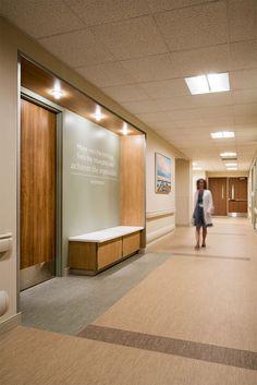 Work Office Design, Medical Office Design, Modern Office Design, Healthcare Design, Modern Offices, Magazine Design, Interior Design Magazine, Hospital Signage, Restaurant Hotel