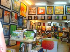 Art shop, Saigon