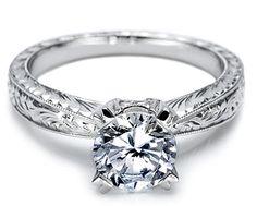 Tacori- engraving like on my ring!