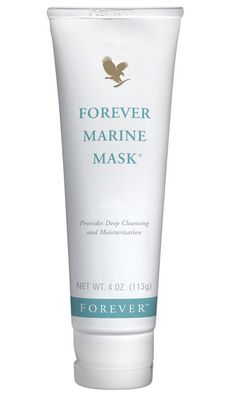 Forever Living Products - Forever Marine Mask. Provides a deep cleanse, while balancing the skin's texture with natural sea minerals. Also contains the super moisturising and conditioning properties of aloe vera, honey and cucumber extract.  www.foreverlivingwa.myflpbiz.com