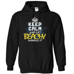 Keep Calm and Let BEACHY Handle It - #gift card #mason jar gift. LIMITED TIME => https://www.sunfrog.com/Automotive/Keep-Calm-and-Let-BEACHY-Handle-It-ifujnvpqqi-Black-30411909-Hoodie.html?68278