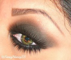 Very pretty smokey eye