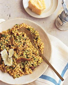 Farro and Porcini Ri