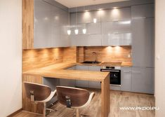 Ikea Kitchen Design, Modern Kitchen Cabinets, Kitchen Units, Kitchen Cabinet Design, Modern Kitchen Design, Kitchen Layout, Home Decor Kitchen, Interior Design Kitchen, Home Kitchens