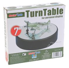 Trumpeter Battery Operated Round Mirrored Display Turntable for Model Kits: Battery Operated Round Mirrored Turntable Dia. for Model Kits Lazy Susan, Battery Operated, Turntable, Clear Acrylic, Dyi, Model Kits, Ebay, Things To Sell, Easels