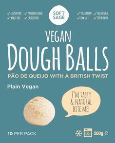 Vegan dough balls plain *glutenfree *vegan www.softsage.co.uk