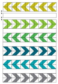 Learn how to make a modern Arrow Baby Quilt while picking up some great tips for successful piecing with half-square triangles. Baby Quilt Patterns, Modern Quilt Patterns, Quilting Patterns, Quilting Ideas, Big Block Quilts, Quilt Blocks, Arrow Quilt, Half Square Triangle Quilts Pattern, Neutral Quilt