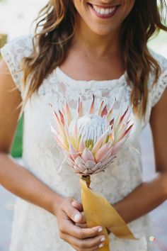 Awesome bridesmaid bouquet.