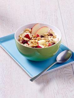 Gesundes FrühstückSie mögen keine Rosinen? Wir auch nicht! Und genau deshalb machen wir uns unser Müsli ab sofort selbst - mit allem, was
