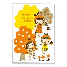 adorable postcard via karel capek tea shop. #PinPantone