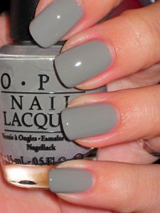 OPI Suzi Takes the Wheel. I want this! Even though I have so many color variations of gray!