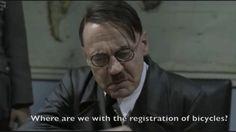 Hitler bicycle rant