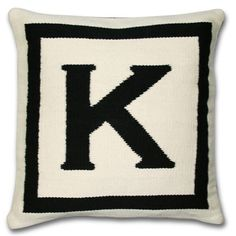 I wish I had one of everything Jonathan Adler made in my house.  Starting with this pillow.....I heart it sooo much!