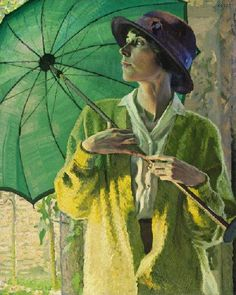 The Sunshade, 1913, by William Leech