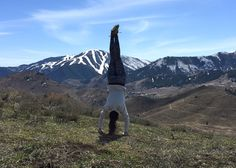 mountain yoga - sun valley, idaho