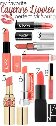 Cayenne Lippies For Spring