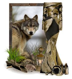"""Wolf"" by terry-tlc ❤ liked on Polyvore"