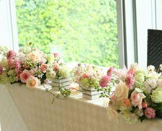 バレリーナ アーリーズテラス様の装花 : 一会 ウエディングの花