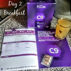 Day 2 of my 9 day cleanse.  7 more days to see the results.  www.myforeverliving.co
