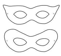 Masken Vorlagen für eine individuelle Gestaltung