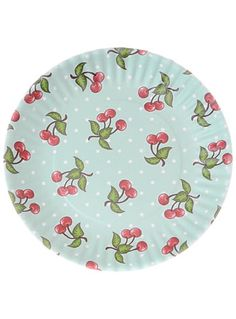 Perfect plastic plates for picnics and they're GREEN because they're washable and reusable :) Cheery Cherry Print Melamine Plates at PLASTICLAND Cherry Baby, Cherry Cherry, Cherries Jubilee, Cherry Kitchen, Creative Co Op, Plastic Plates, Retro Home, Retro Decorating, Decorating Ideas