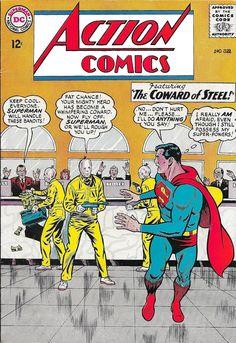 Action Comics 321 Superman Comic Cover hi-res