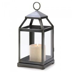 Gallery of Light 14125 Rustic Silver Contemporary Lantern