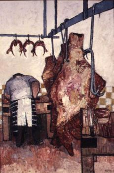 Butcher's Shop No.1 by Peter Coker