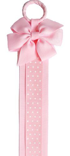 Boutique Hair Clip & Hair Bow Holder (Pink Bow/Pink Dot Ribbon) Funny Girl Designs,http://www.amazon.com/dp/B003ZZNSN8/ref=cm_sw_r_pi_dp_.4fltb0P3DDSWSBH