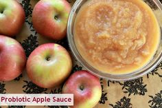 A recipe for fermented apple sauce that's great for the kids!