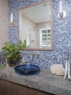 Create a stunning look in your bathroom with a tile design that suits your style and falls within your budget. See how on HGTV.com.
