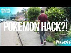 Pokemon go hack   POKEMON GO ON RAILWAY?!   Easy XP